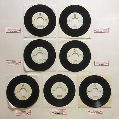 "Suzy Bogguss 7 Record Lot Orig 7"" 45 RPM Vinyl Jukebox Strips Country VG+"