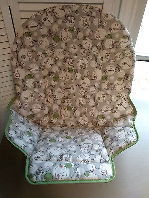 NEW Authentic Graco Simple Switch Seat Pad High Chair Cushion Replacement Zuba