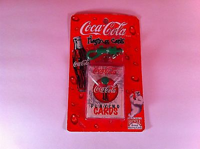 Vintage Coca Cola Playing Cards Bicycle Deck Play On The Go Advertising Coke 99