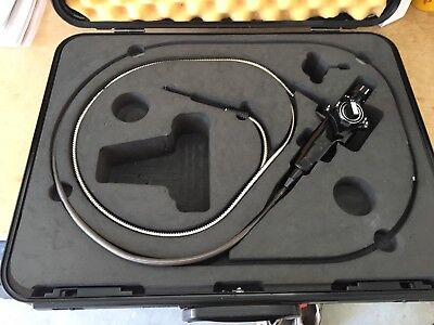 Olympus if8d4-15 Industrial Aerospace Flexible Fiber Borescope w/Carrying Case