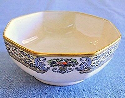 """Lenox Fine Bone China 5"""" OCTAGONAL BOWL Autumn Made in USA Gold Stamp NEW"""