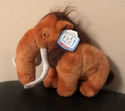 Manny The Woolly  Mammoth  From Ice Age Soft Toy With Tags