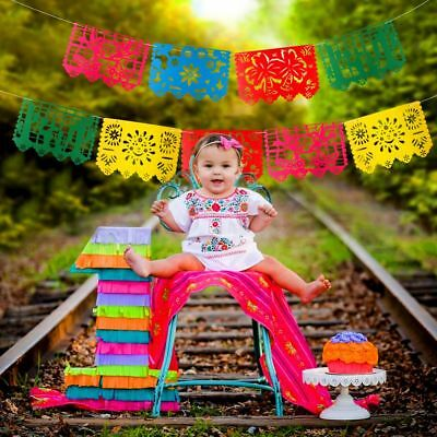 mexican papel picado banner flags garland wedding spanish mexican