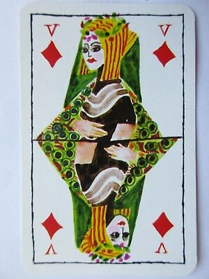 1845 Versicherungen. Schoenes Kunstler Kartenspiel.Great Dutch art playing cards