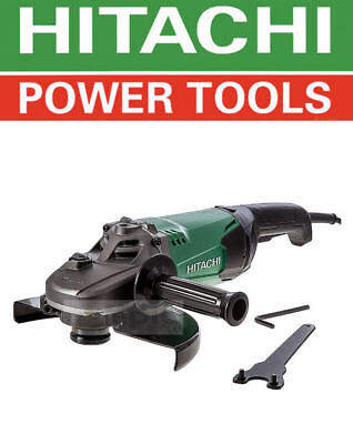 "Hitachi 2000w 230mm (9"") Angle Cutter Grinder Metal/Masonry 240v Electric G23ST"