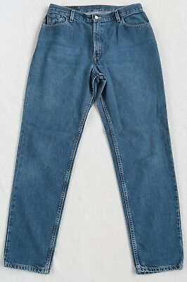 Levi's Women's 550 Relaxed Fit Medium Wash Denim Jeans - No Tag/Measured 33x32