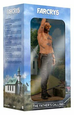 """NEW Boxed FAR CRY 5 Statue JOSEPH - THE FATHER'S CALLING 32"""" Collectible Figure"""