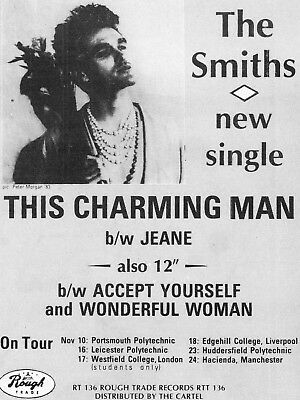 "The Smiths THIS CHARMING MAN 16"" x 12"" Photo Repro Promo  Poster 3"