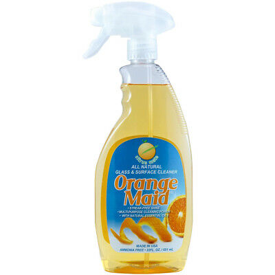 Orange Mate Organics Orange Maid Natural Glass Surface Cleaner Citrus Mate 22oz
