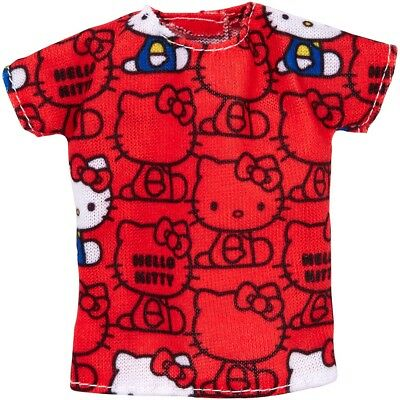 Barbie Hello Kitty Red Top Fashion Pack