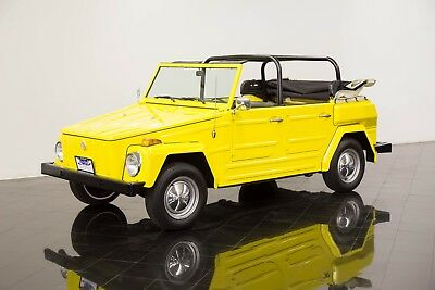 1974 Volkswagen Thing  1974 Volkswagen Thing