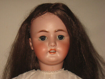 "Antique 32"" C.M. Bergmann / Simon & Halbig Bisque Socket Head Doll MB4"
