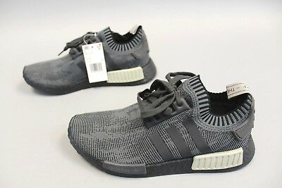 811535718 ADIDAS MEN S NMD R1 PK Primeknit Shoes GG8 Olive Black AQ1248 Size 9 ...
