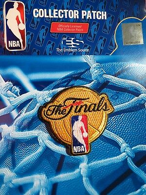 NBA The Finals Uniform Patch 2017 (Worn on the Jersey at the back of the Neck)