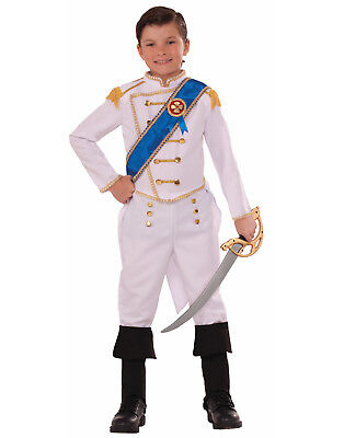 Happily Ever After Prince Boys Child Cinderella Charming Halloween Costume