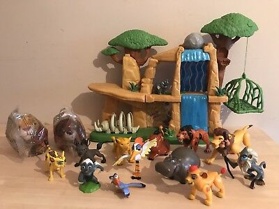 Lion King Guard Defend The Pride Lands Beshte Mufasa Scar Bungalow Figures Zuzu
