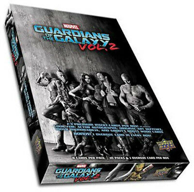 Marvel Guardians of the Galaxy Vol. 2 Factory Sealed Hobby Box