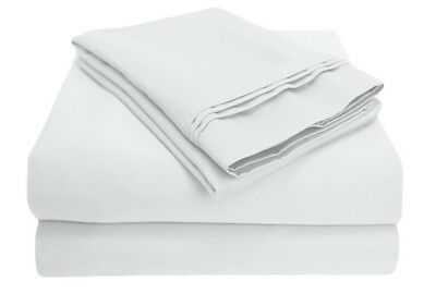 Luxor 100/% Egyptian Cotton 650TC Sheet ~ King//Cal King FLAT ONLY ~ Ivory NEW