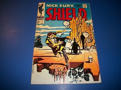 Nick Fury Agent of Shield #7 Silver Age Steranko Solid VG/F