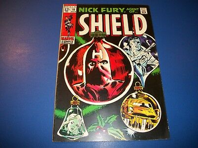 Nick Fury Agent of Shield #10 Silver Age Comic VG+ Barry Smith