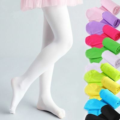 Kids Baby Girls Velvet Tight Ballet Dancing Pantyhose Elastic Warm Stockings