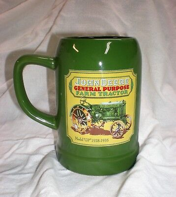 "John Deere, ""GP Tractor"" large coffee mug / cup / stein, Official Licensed item"