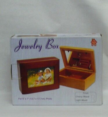 Jewelry Box with Glove Compartments, and Photo Space