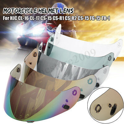 Helmet Shield Visor Lens For HJC CL-16 CL-17 CS-15 CS-R1 CS-R2 CS-15 FG-15 TR-1