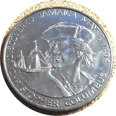 elf Jamaica 10 D 1975 CN PL Christopher Columbus Ship