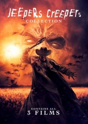 Jeepers Creepers 1 2 3 Collection Region 2 DVD New