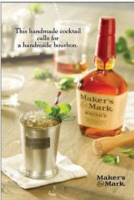 Mint Julep Makers Mark Poster 24 By 36