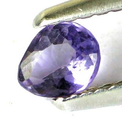 #*0.28 cts. 4.9 x 4 mm. UNHEATED NATURAL PURPLE SPINEL PEAR BURMA