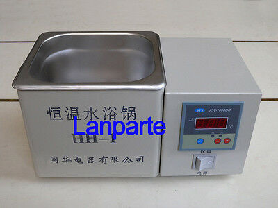 Brand New Digital Lab Thermostatic Water Bath Single Hole Electric Heating 220V