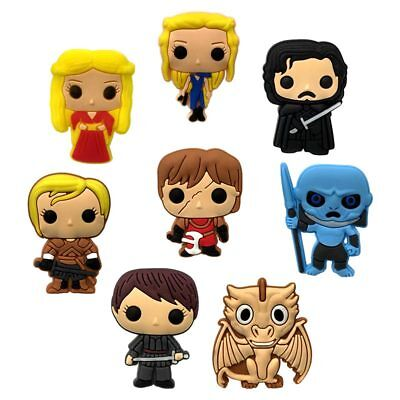 5pcs Game of Thrones PVC Shoe Charms Accessories for holes on Shoes Bracelet