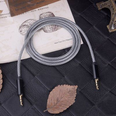 1M 3.5mm Jack Male to Male Car Aux Auxiliary Cord Stereo Audio Cable for Phone