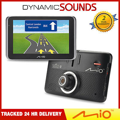 Mio Mivue Drive 55 LM SatNav + EHD Dashcam Lifetime EU Maps-Traffic Updates 16GB