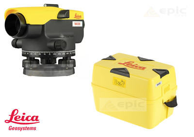LEICA Optical 360° Dumpy Site Auto Level With 20x Magnification + Case NA320
