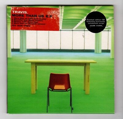 (IB622) Travis, More Than Us EP - 1998 Ltd Ed CD
