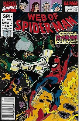 Web of Spider-Man Annual No.6 / 1990 Gerry Conway Stan Lee Gil Kane Ross Andru