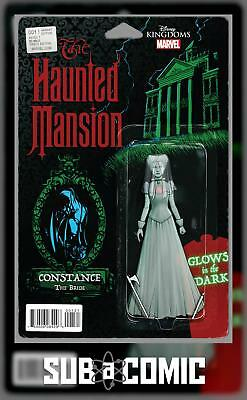 HAUNTED MANSION #1 ACTION FIGURE VARIANT (MARVEL 2016 1st Print) COMIC