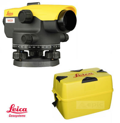 LEICA Optical 360° Dumpy Site Auto Level With 24x Magnification + Case NA324