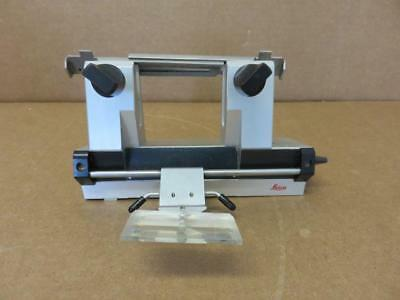 Leica Cryostat Fixed Knife Blade Holder Assembly