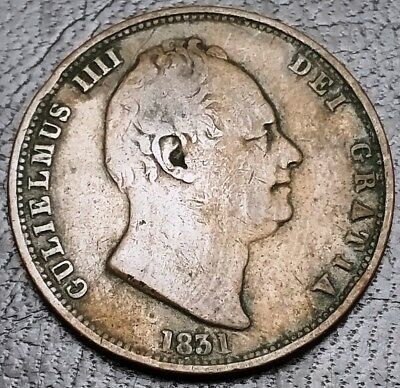 1831 Great Britain Penny - Great Condition - Free Combined S/H