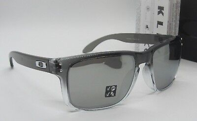 OAKLEY dark ink fade/chrome iridium POLARIZED HOLBROOK OO9102-A9 sunglasses NEW!