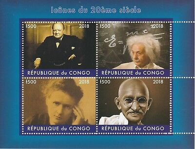 Congo 7544-2018 George Michael Perf Sheet Of 4 Values Unmounted Topical Stamps Africa