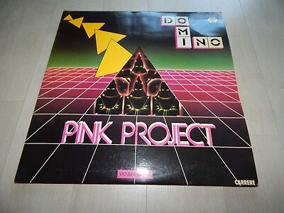 Pink Project Domino Baby Records Italy 1982 2xVinyl LP