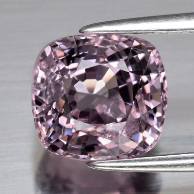 3.20ct 8.2x7.7mm Cushion Natural Purple Spinel, M'GOK