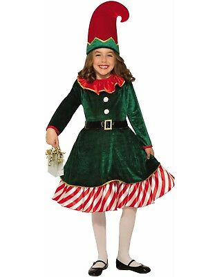08cfd70698717 ... Fancy Dress Costume Kids Santas Helper Xmas Party Outfit.