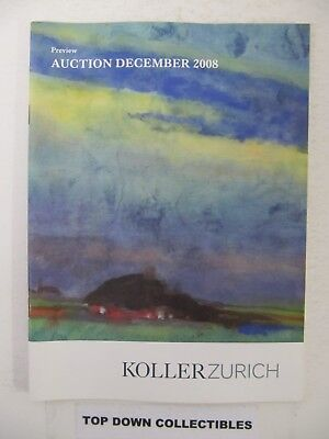 Kollerzurich  Preview Auction December 2008  Pablo Picasso/Marc Chagall