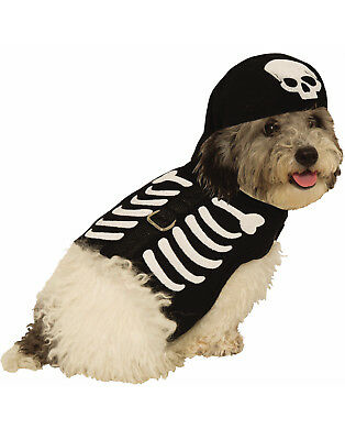 Skeleton Harness Pet Cute Bones Cat Dog Halloween Costume